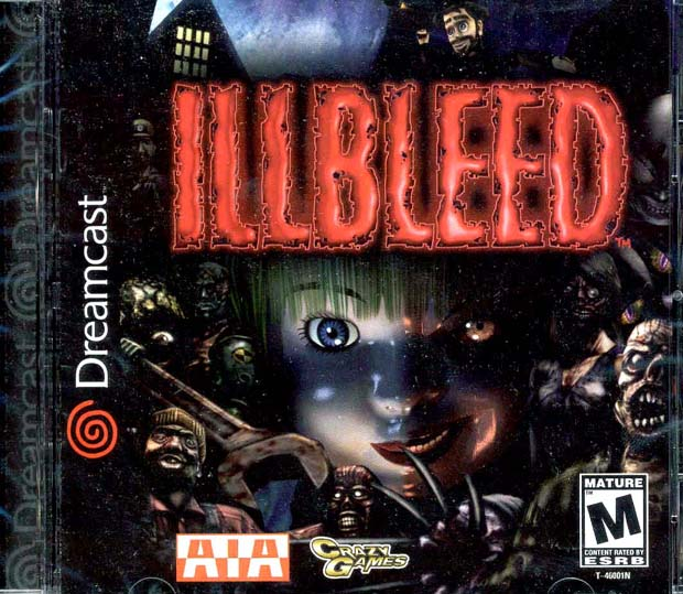 Illbleed Dreamcast Game Front Sega AIA Instruction Booklet